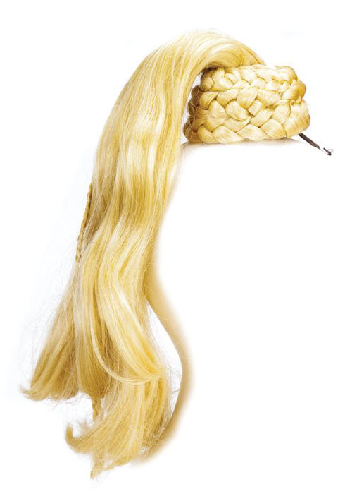 Madonna's Blond Ambition ponytail