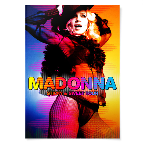 Madonna Sticky & Sweet Tour Merchandise