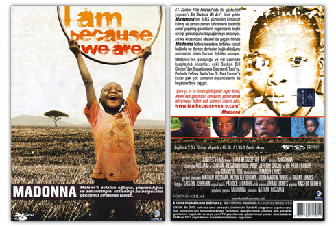 I Am Because We Are: Le DVD dans I Am Because We Are dvd_turkey_501