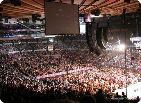 Madison Square Garden Is Located In Manhattan On Seventh Avenue Between 31st And 33rd Streets For Further Information Please Visit Madonnatribe S