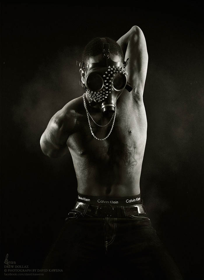 MadonnaTribe meets Drew Dollaz - photography by David Kawena